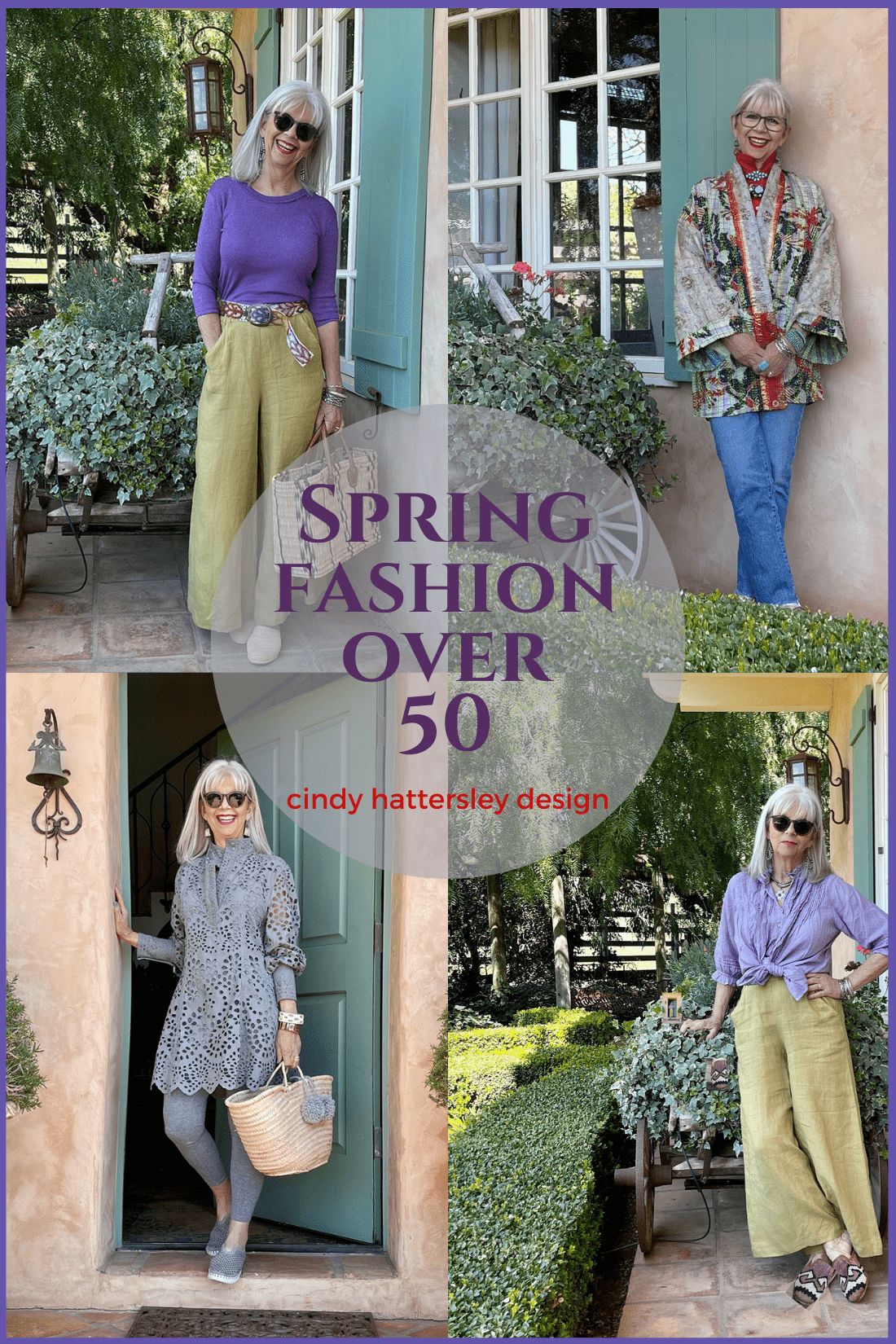 Spring Fashion over 50 Cindy Hattersley Design