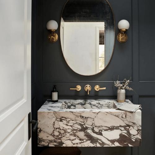 amber interiors powder room