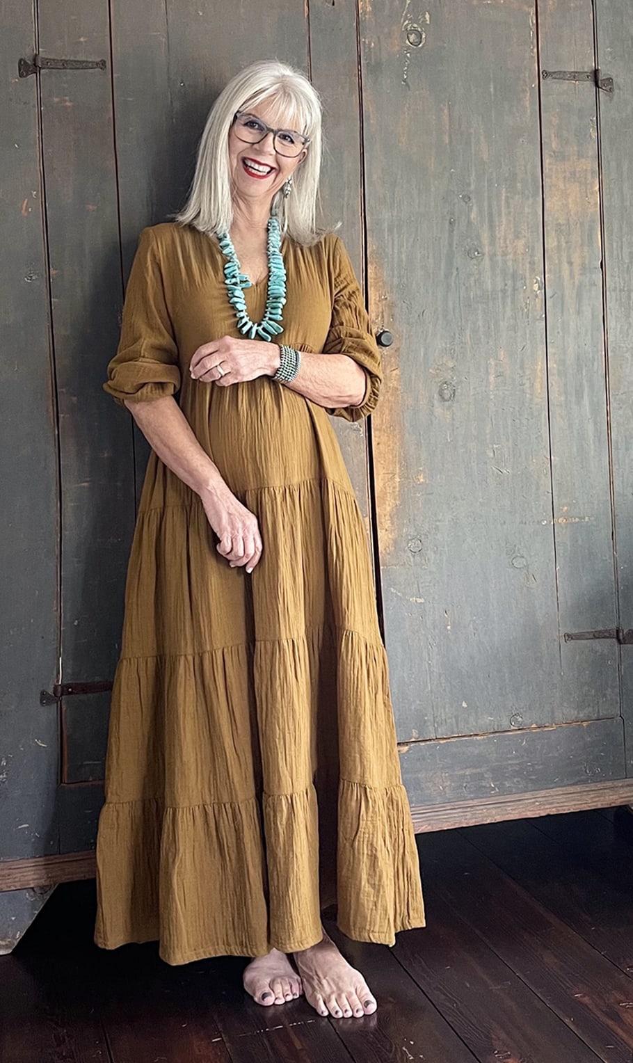 cindy hattersley in target prairie dress