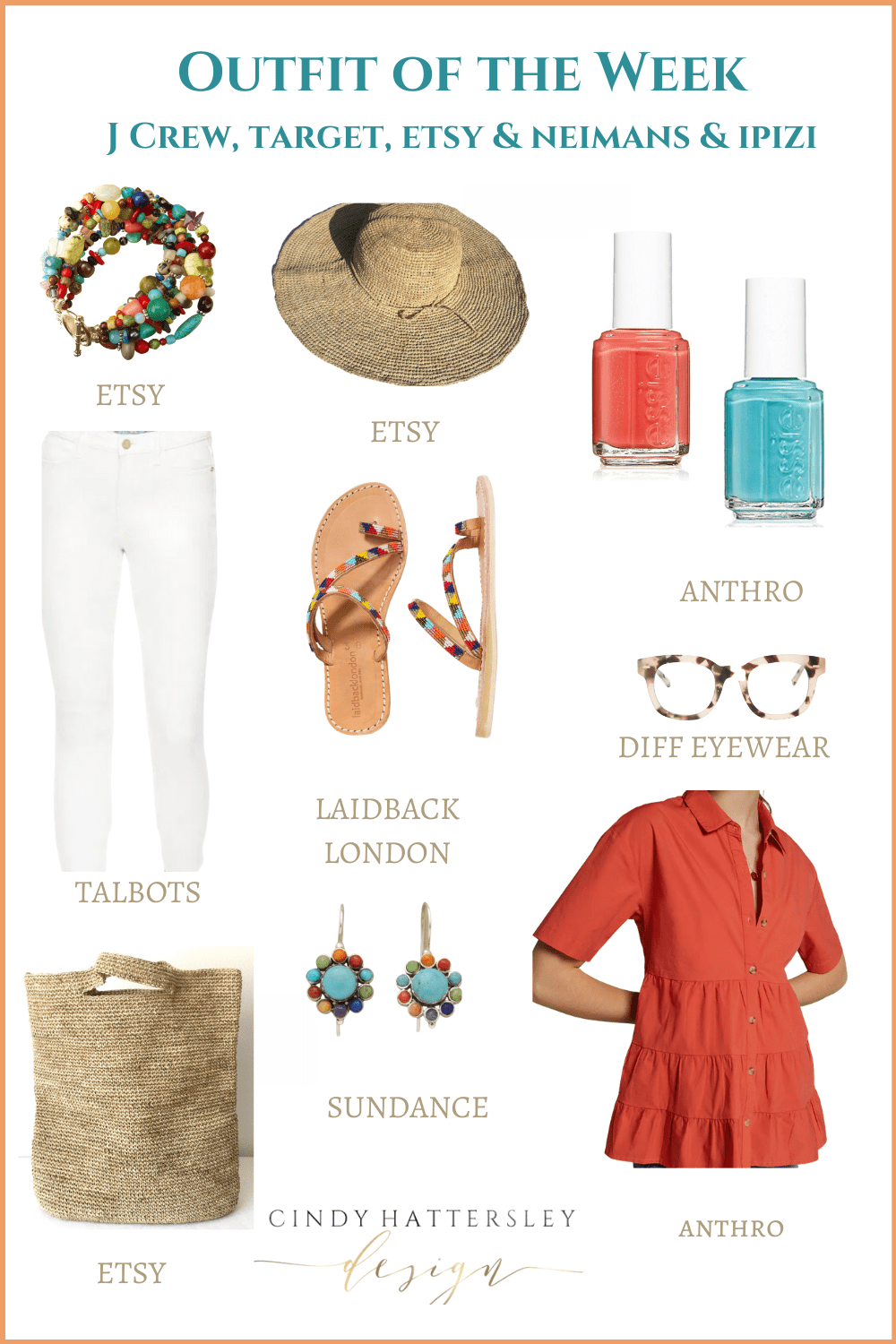 outfit of the week featuring anthropologie