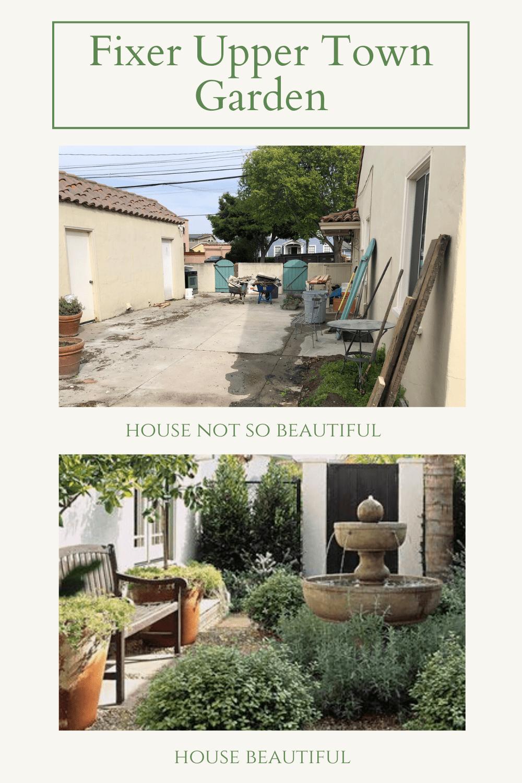 fixer upper town garden