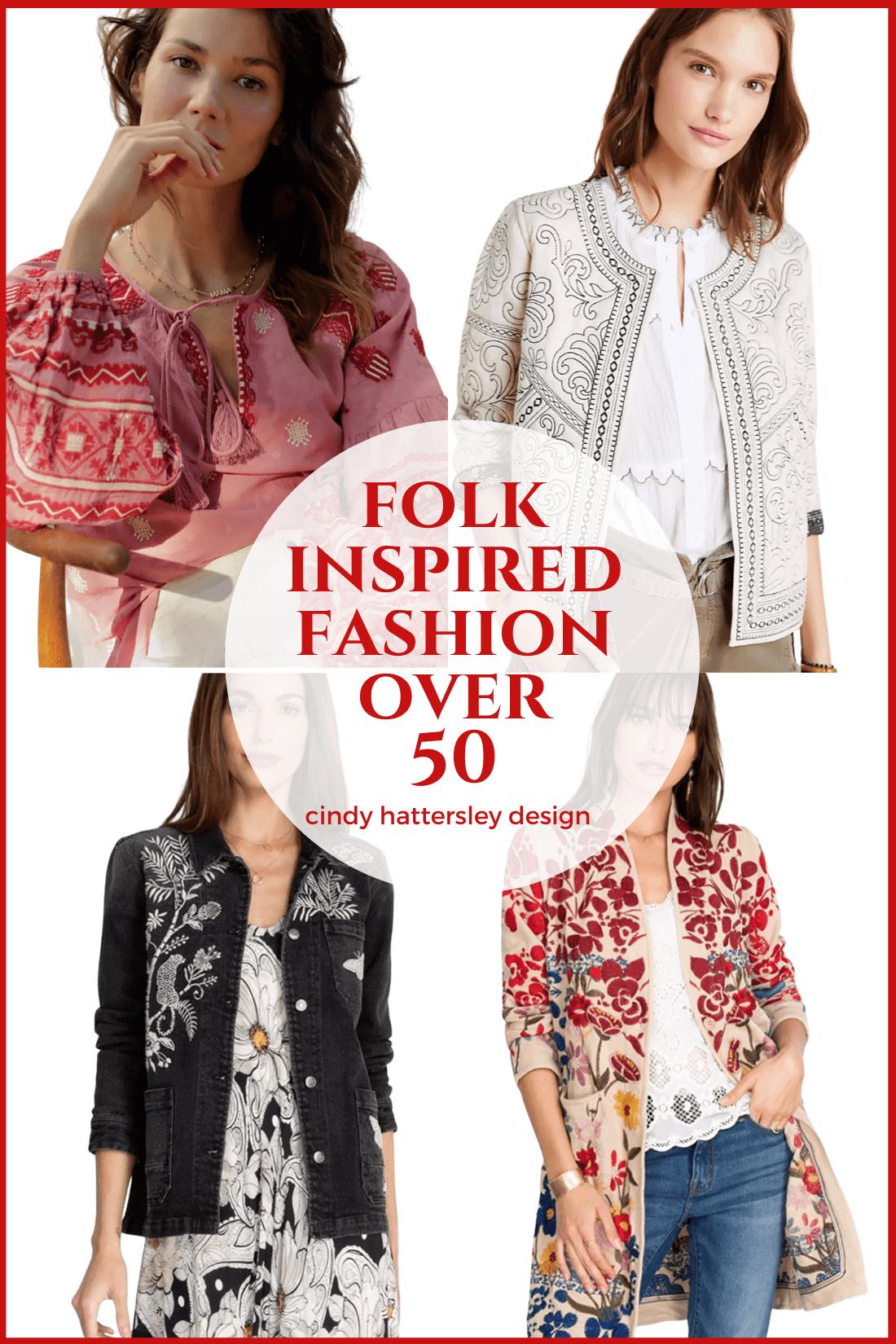 folk inspired fashion over 50