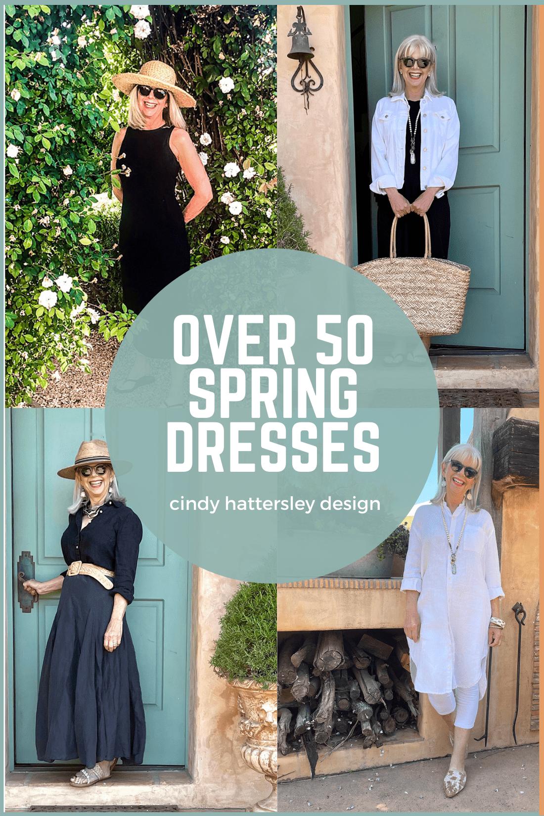over 50 spring dresses