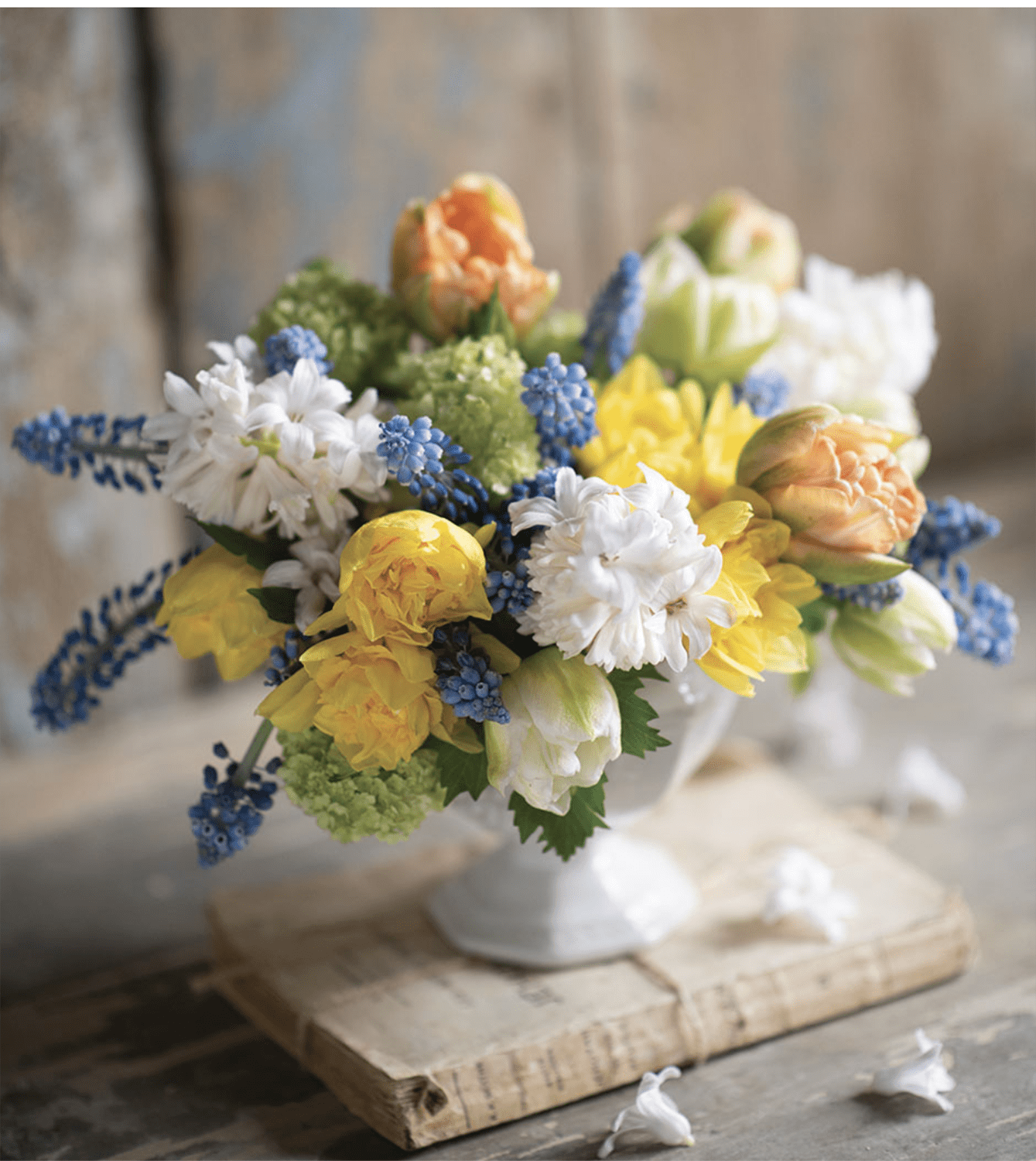sandra sigman flower magazine arrangement