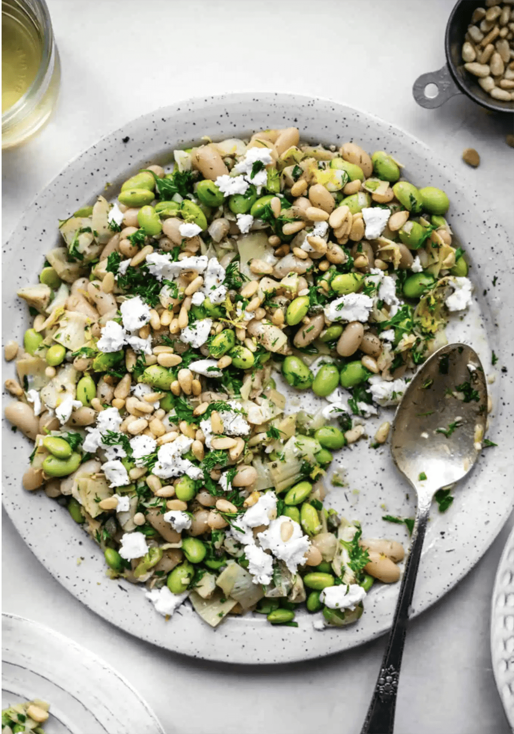 white bean salad FROM CROWDED KITCHEN
