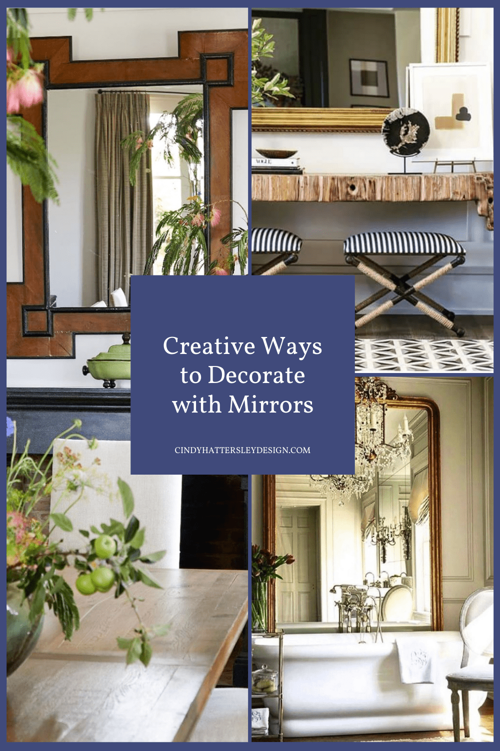 Creative Ways to Decorate with Mirrors