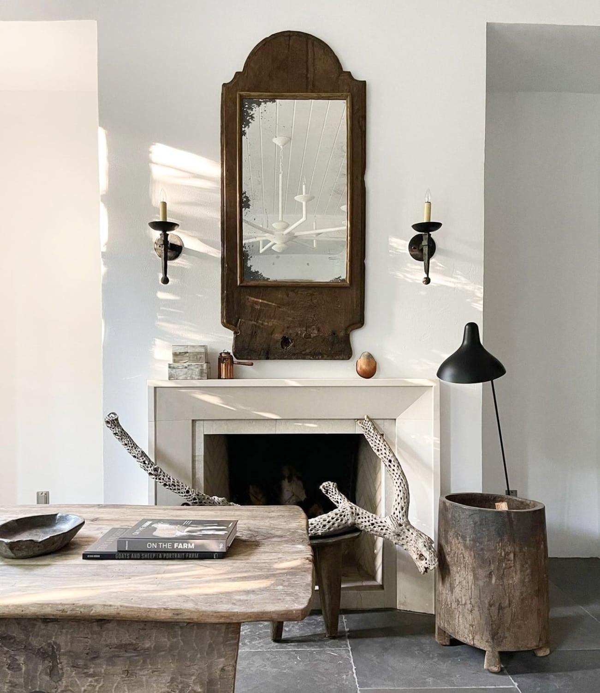 jill sharp studio fireplace capture