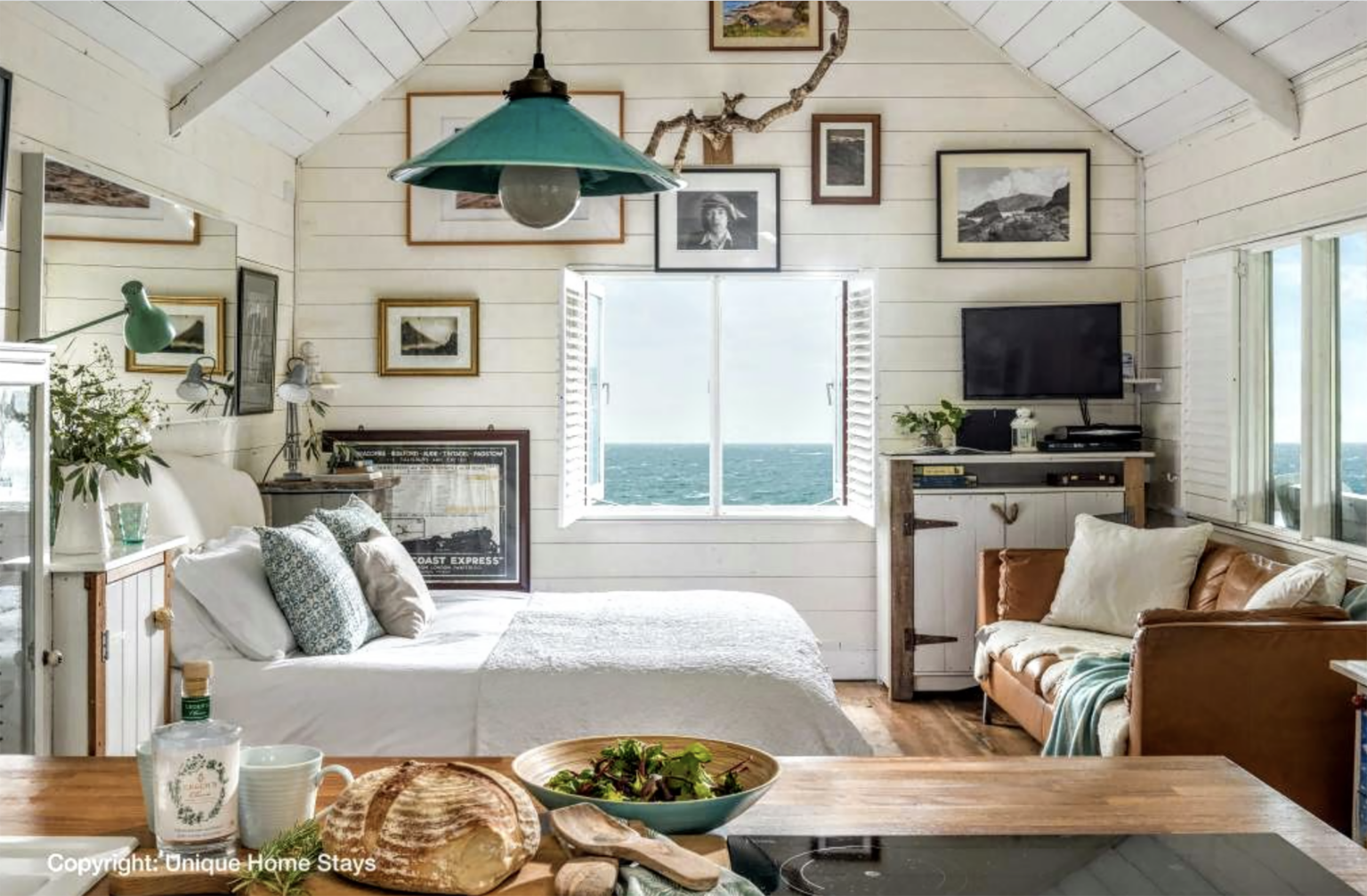 Cornwall beach hut featured on Cote de Texas