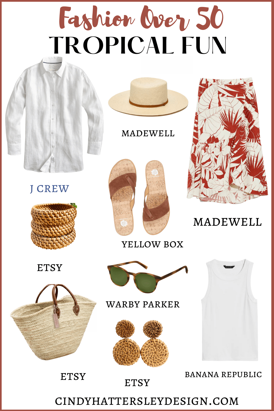 Outfit of the Week Tropical Fun