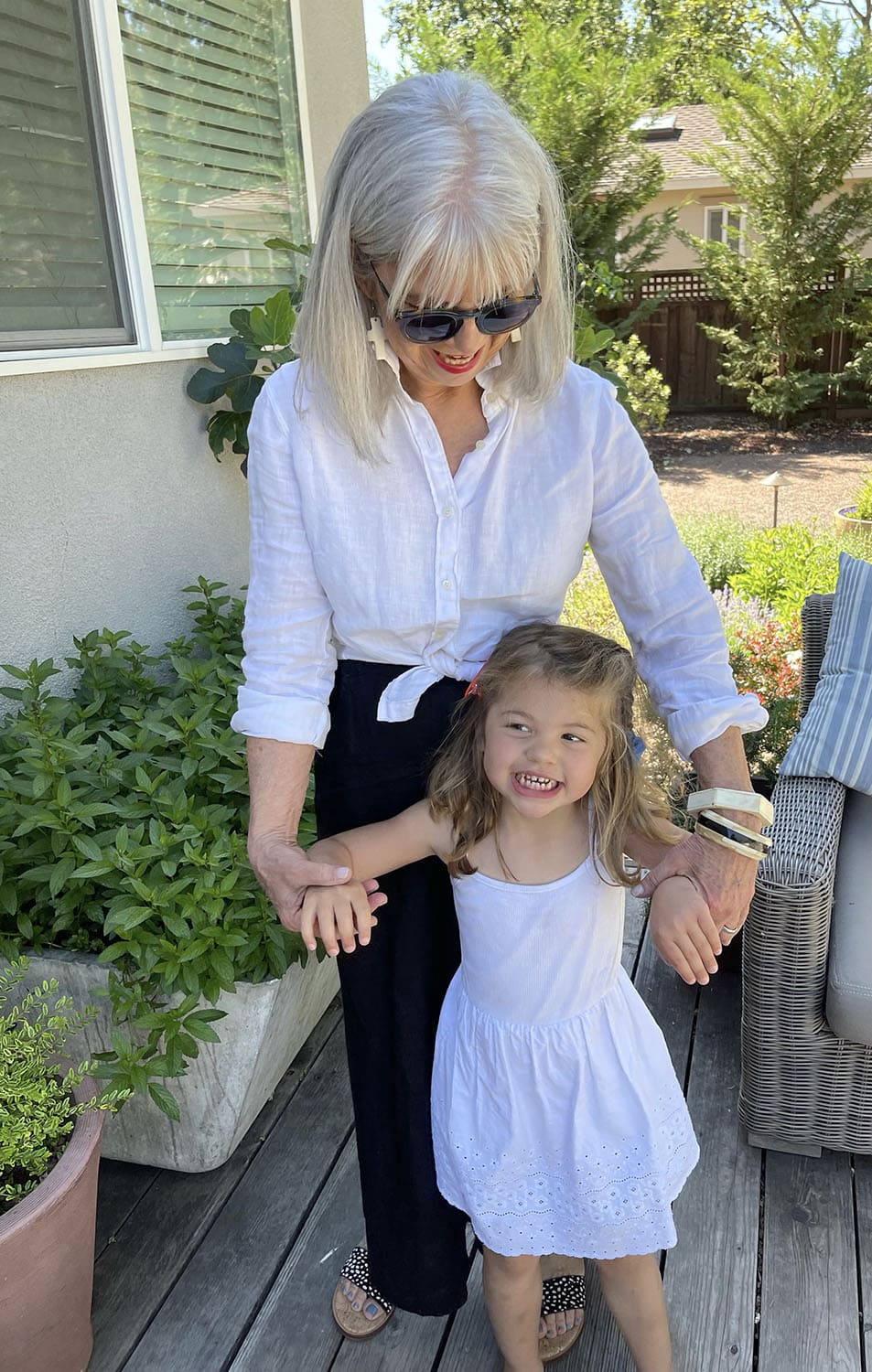 cindy hattersley and her granddaughter