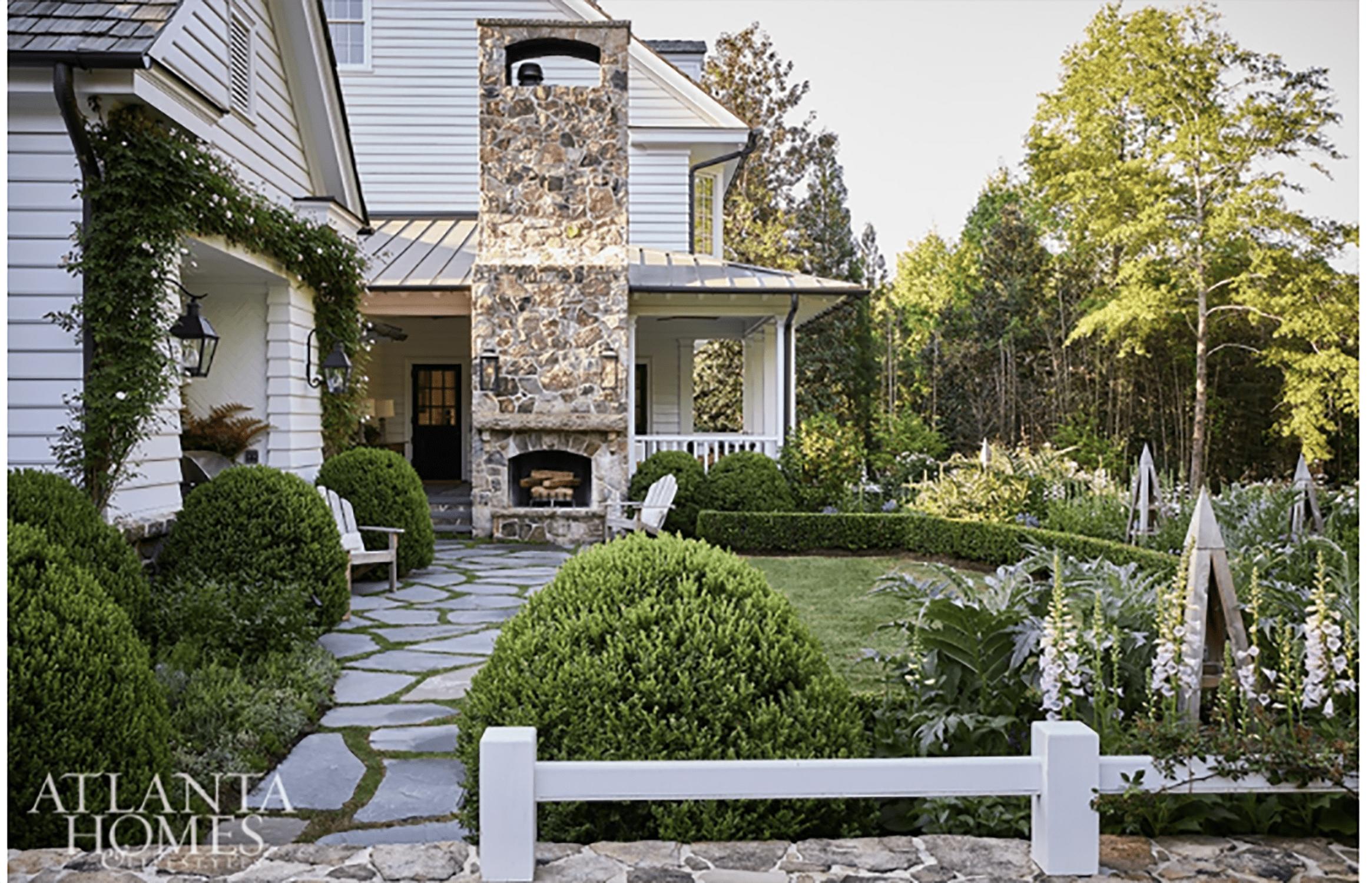 design chic:atlanta homes farm house