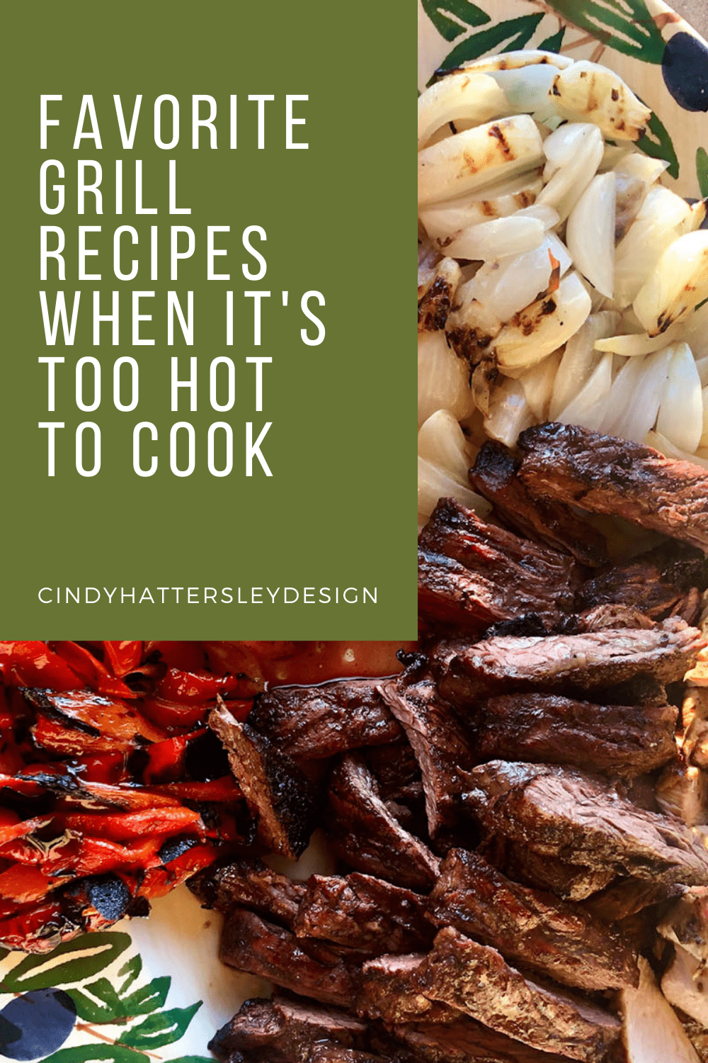 grill recipes when it's too hot to cook