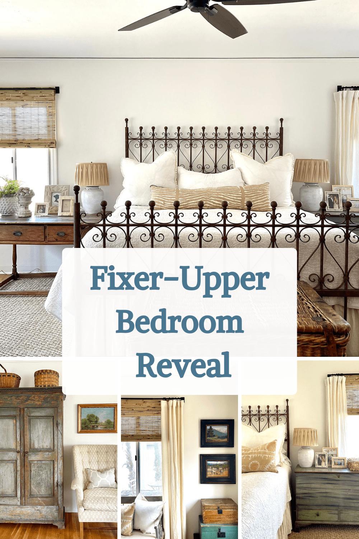 fixer-upper bedroom reveal