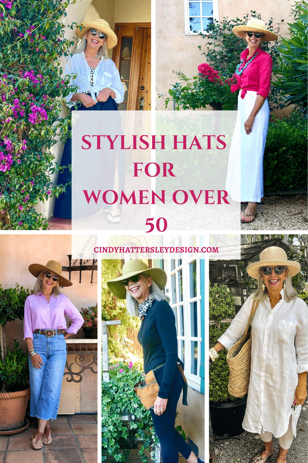 stylish hats for women over 50