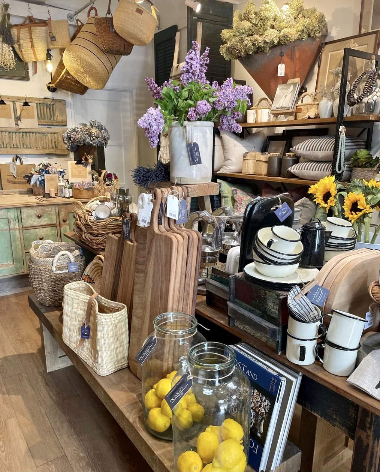 the blu canoe shop