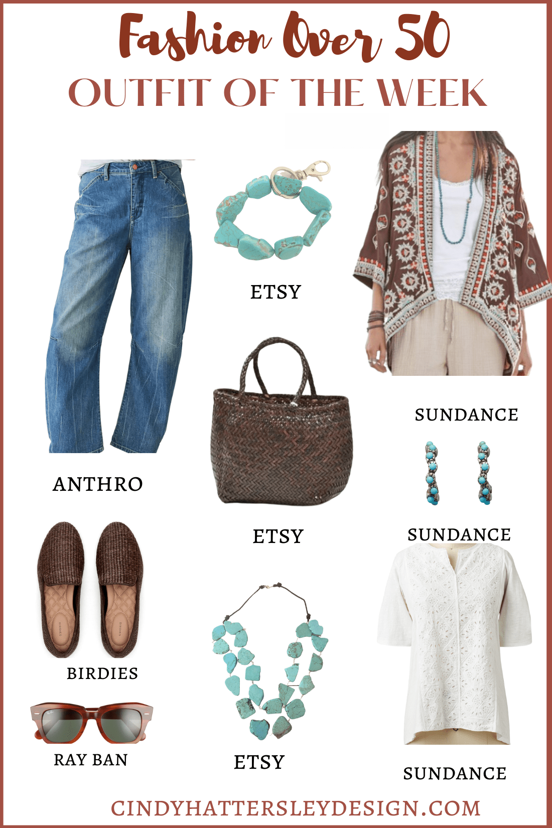 FASHION OVER 50 OUTFIT OF THE WEEK