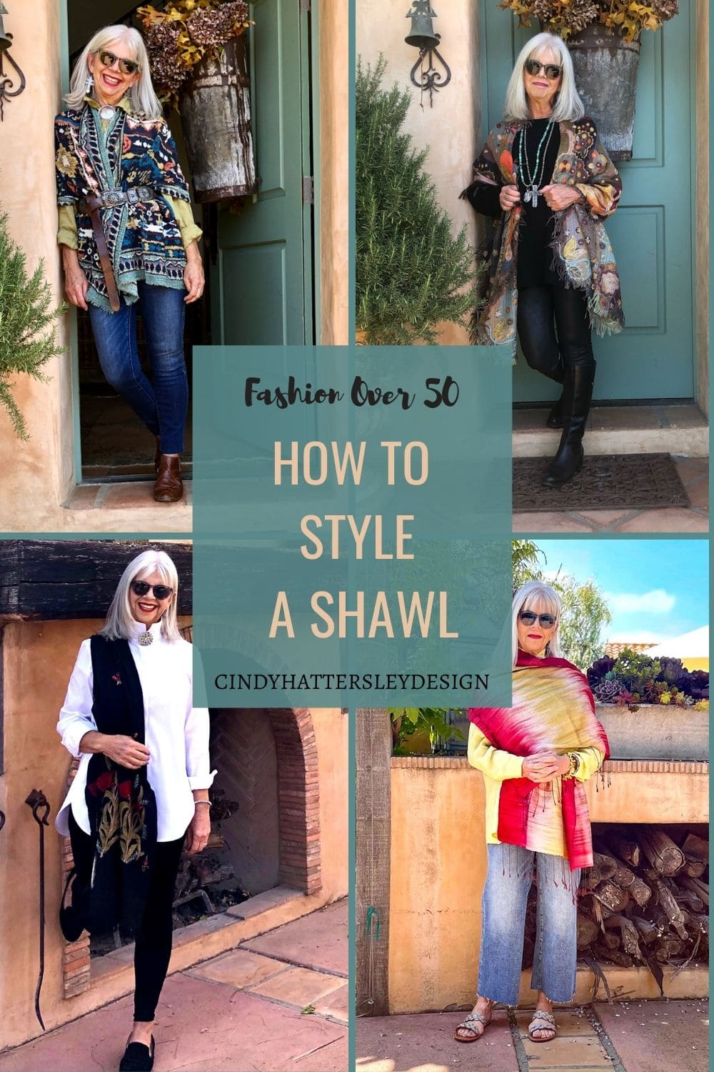 MY FAVORITE WAYS TO STYLE A SHAWL
