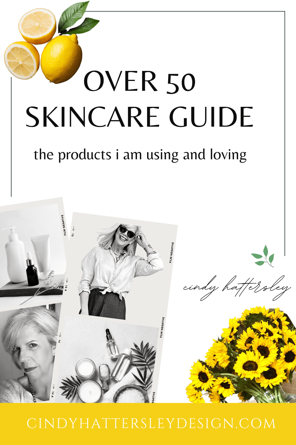 Cindy Hattersley's Over 50 Skincare Guide