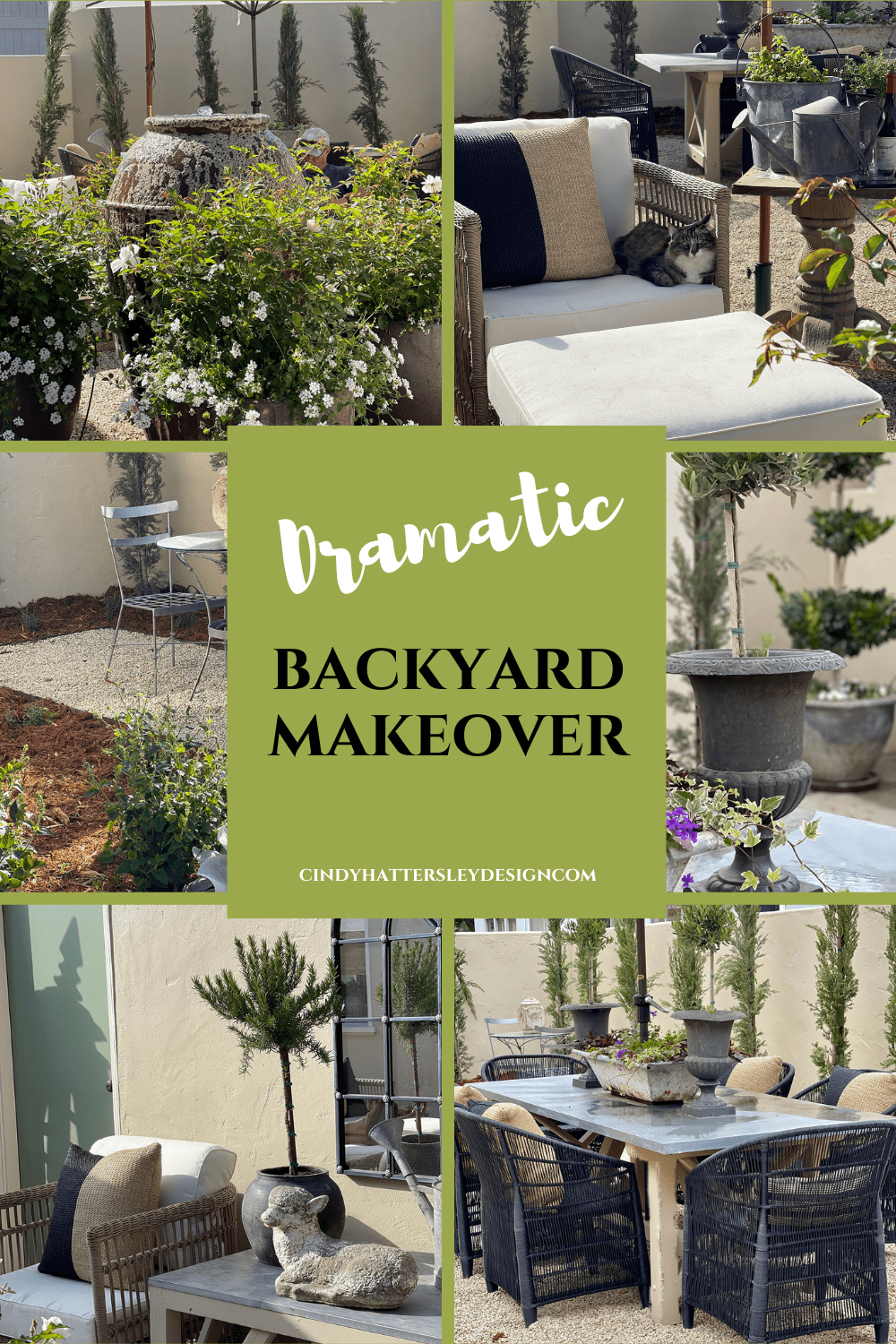 backyard transformation before and after