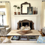 Fixer Upper Living Room Before and After