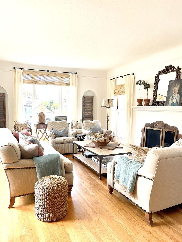 cindy hattersley's fixer upper living room