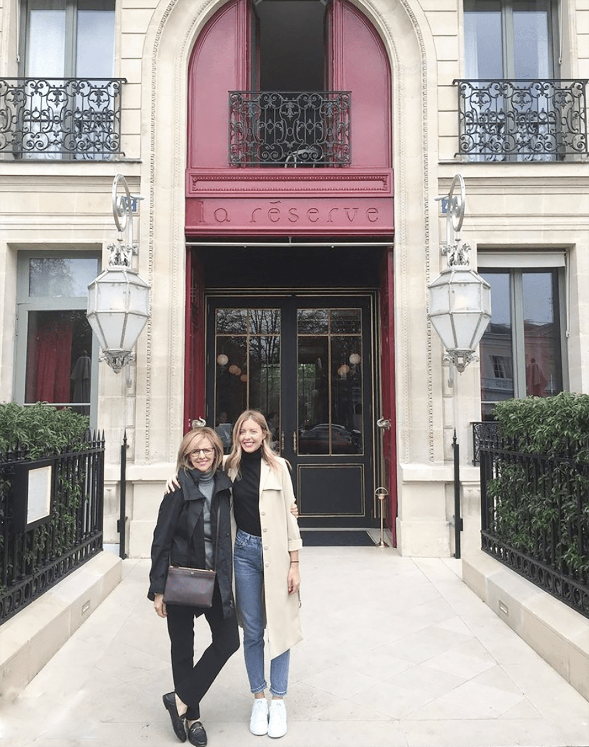 nancy meyers and her daughter
