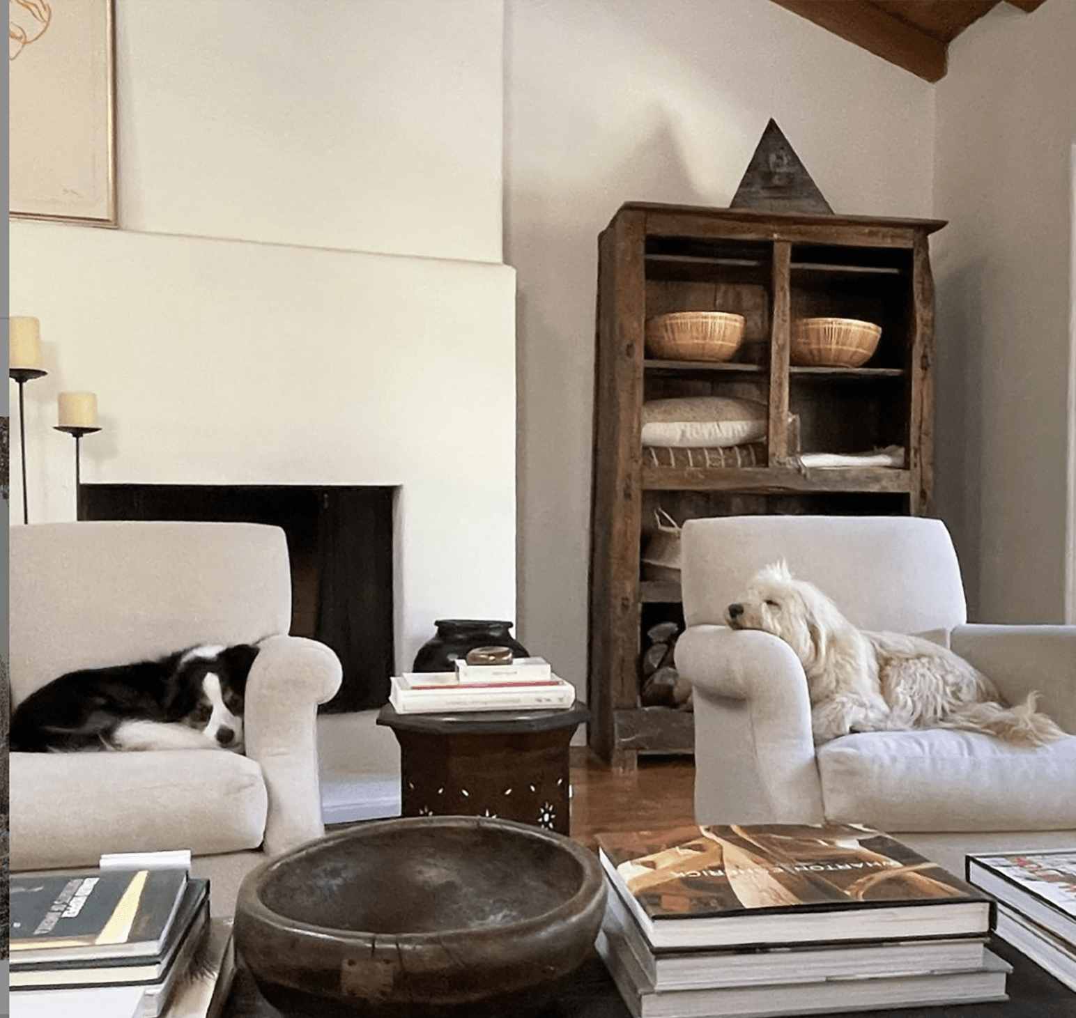 nancy meyers instagram living room