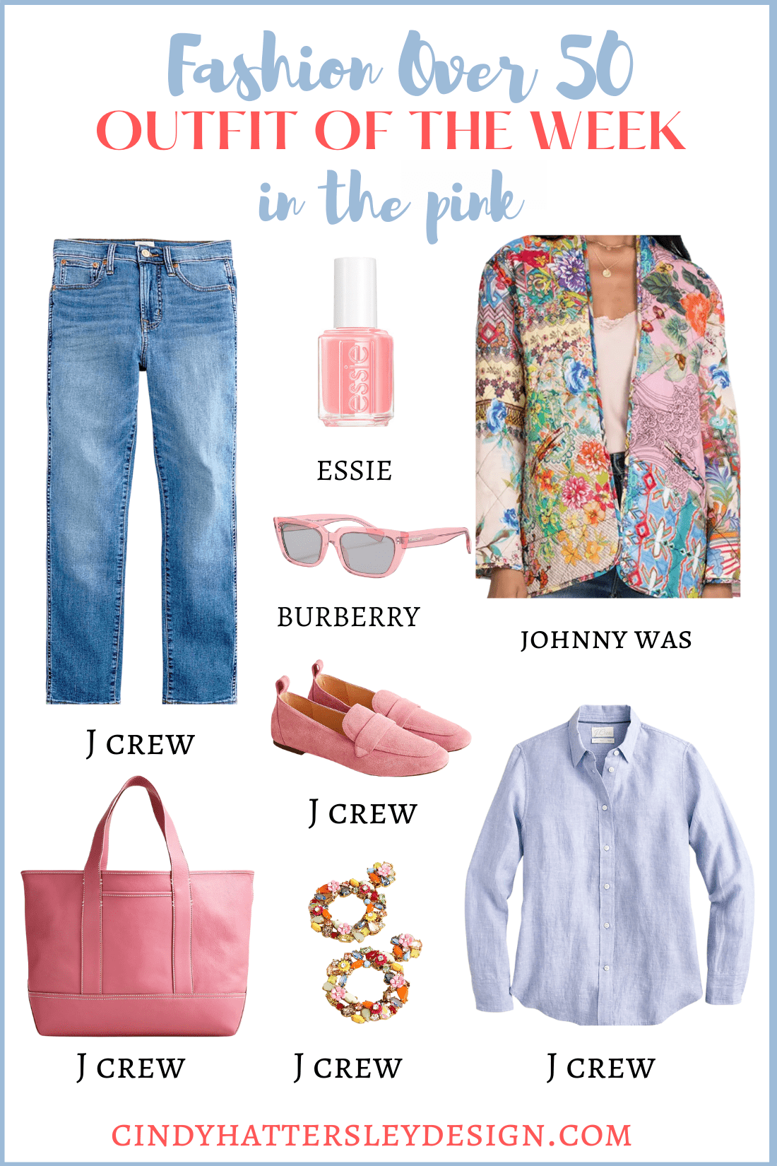 outfit of the week in the pink