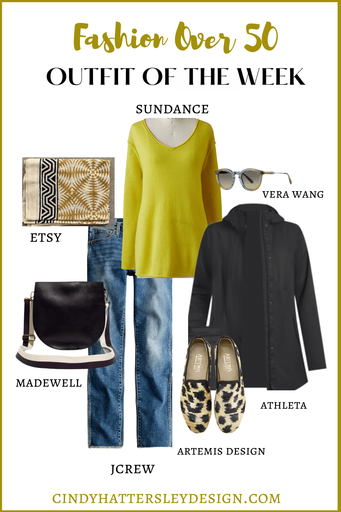outfit of the week sundance, JCREW, MADEWELL, ARTEMIS DESIGN ETSY