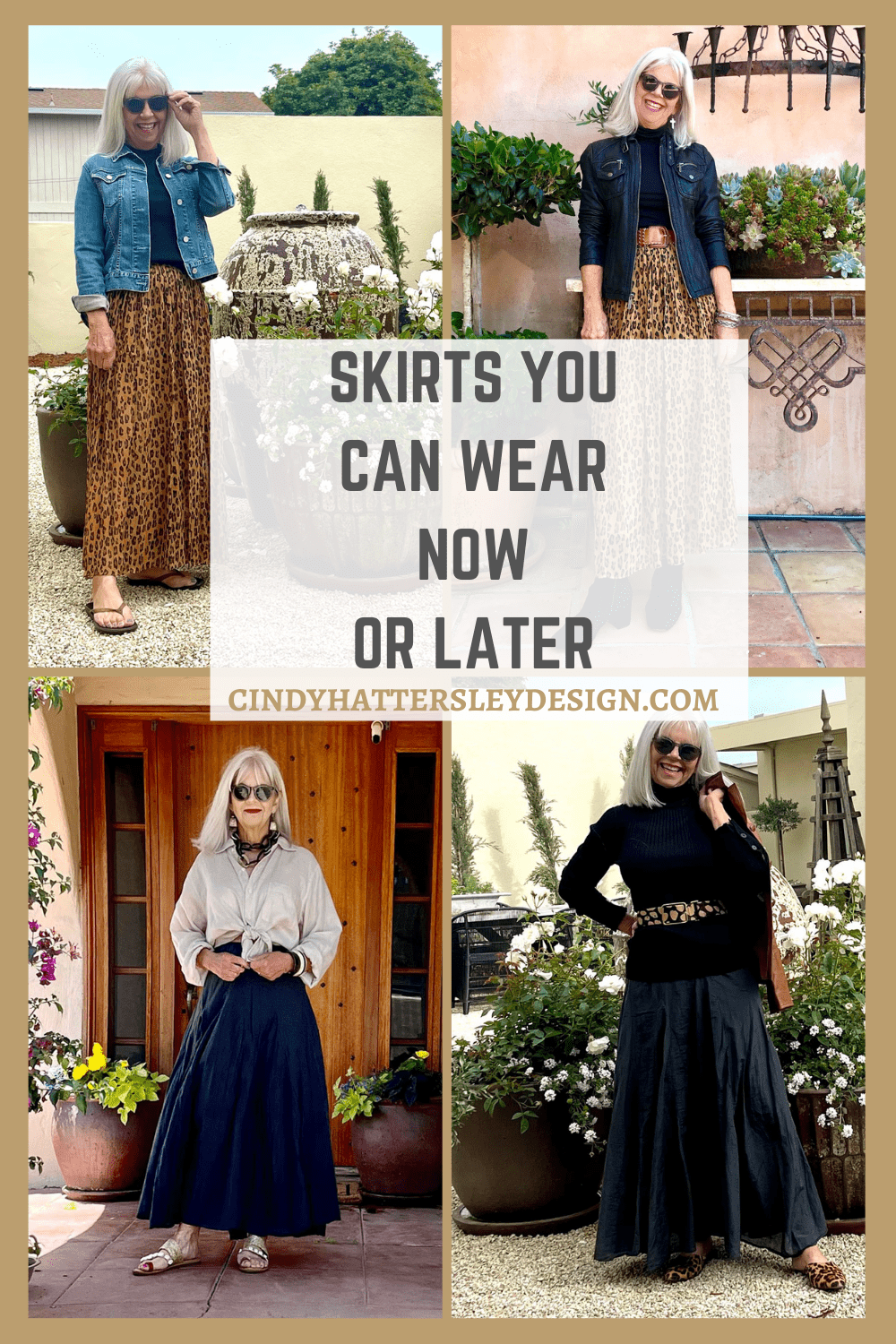 skirts you can wear now or later
