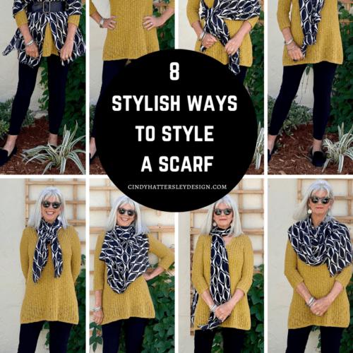 Eight Stylish Ways to Style a Scarf