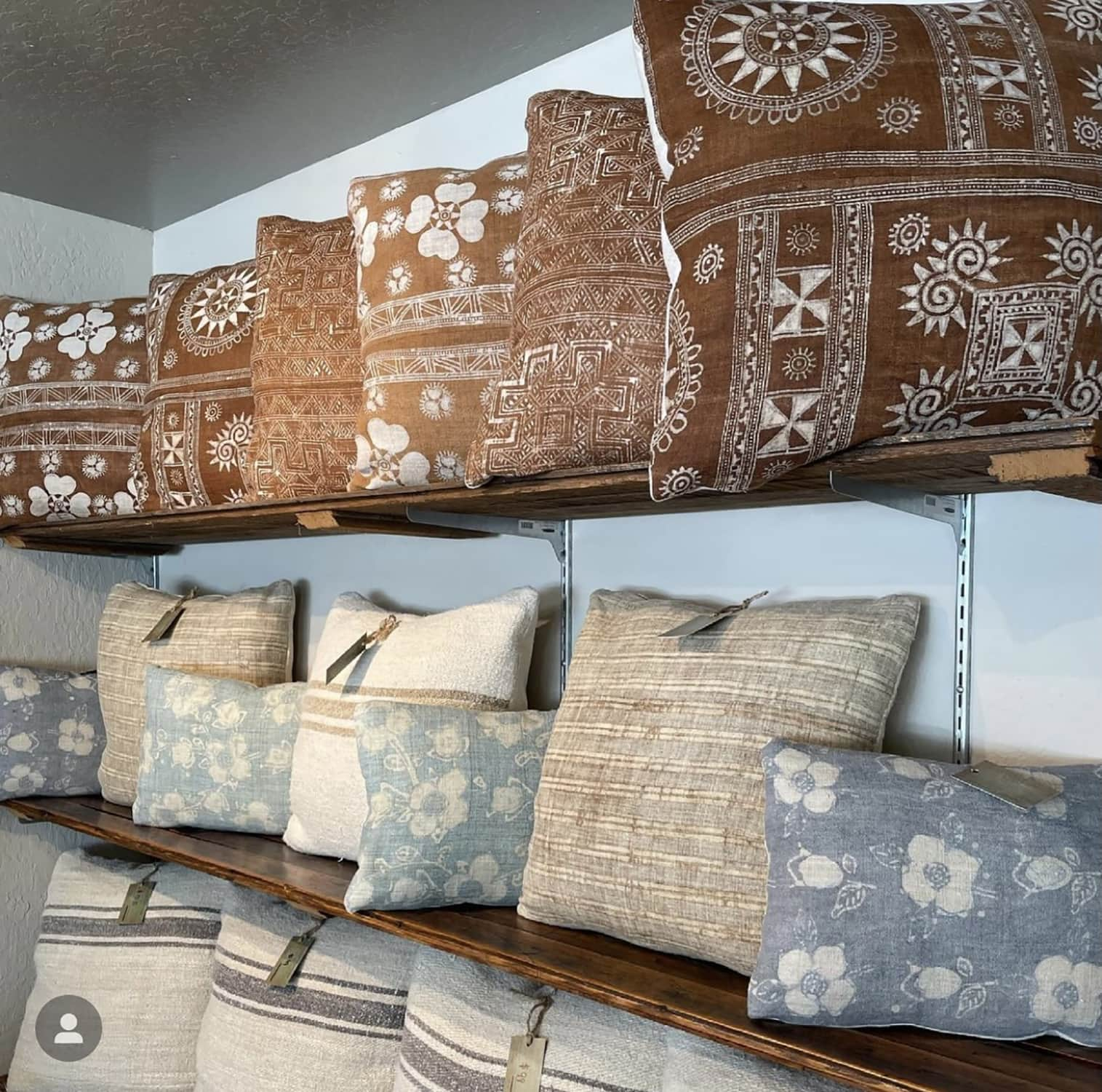 Patine current pillow collection