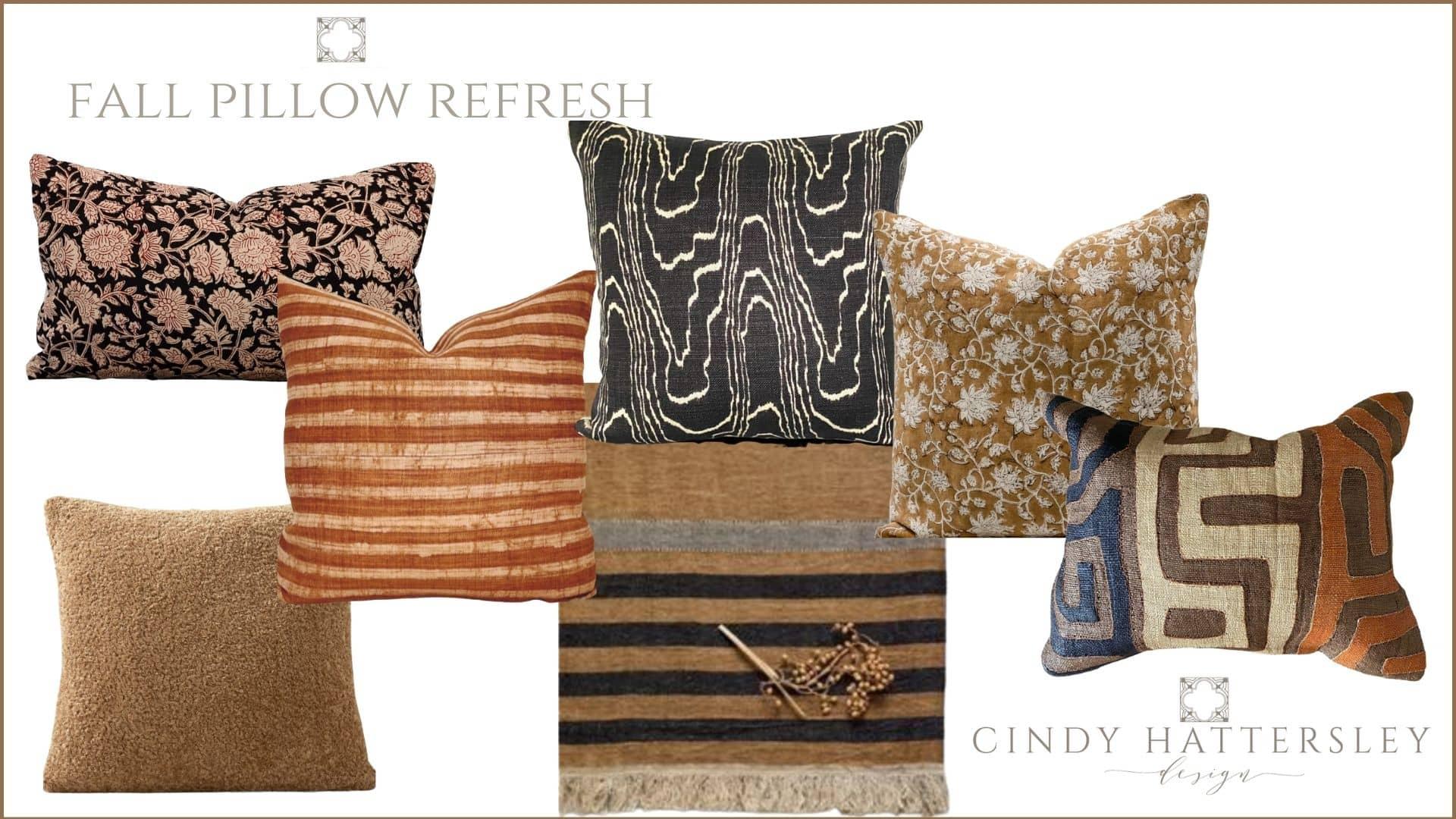 fall pillow refresh cindy hattersley design
