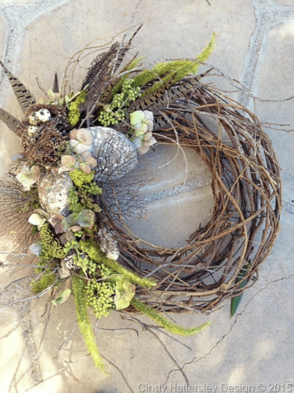 easy to make grapevine wreath