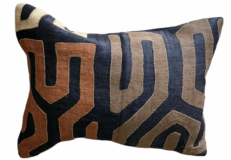 paulski art home kuba cloth pillow