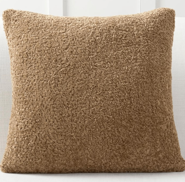 pottery barn teddy pillow