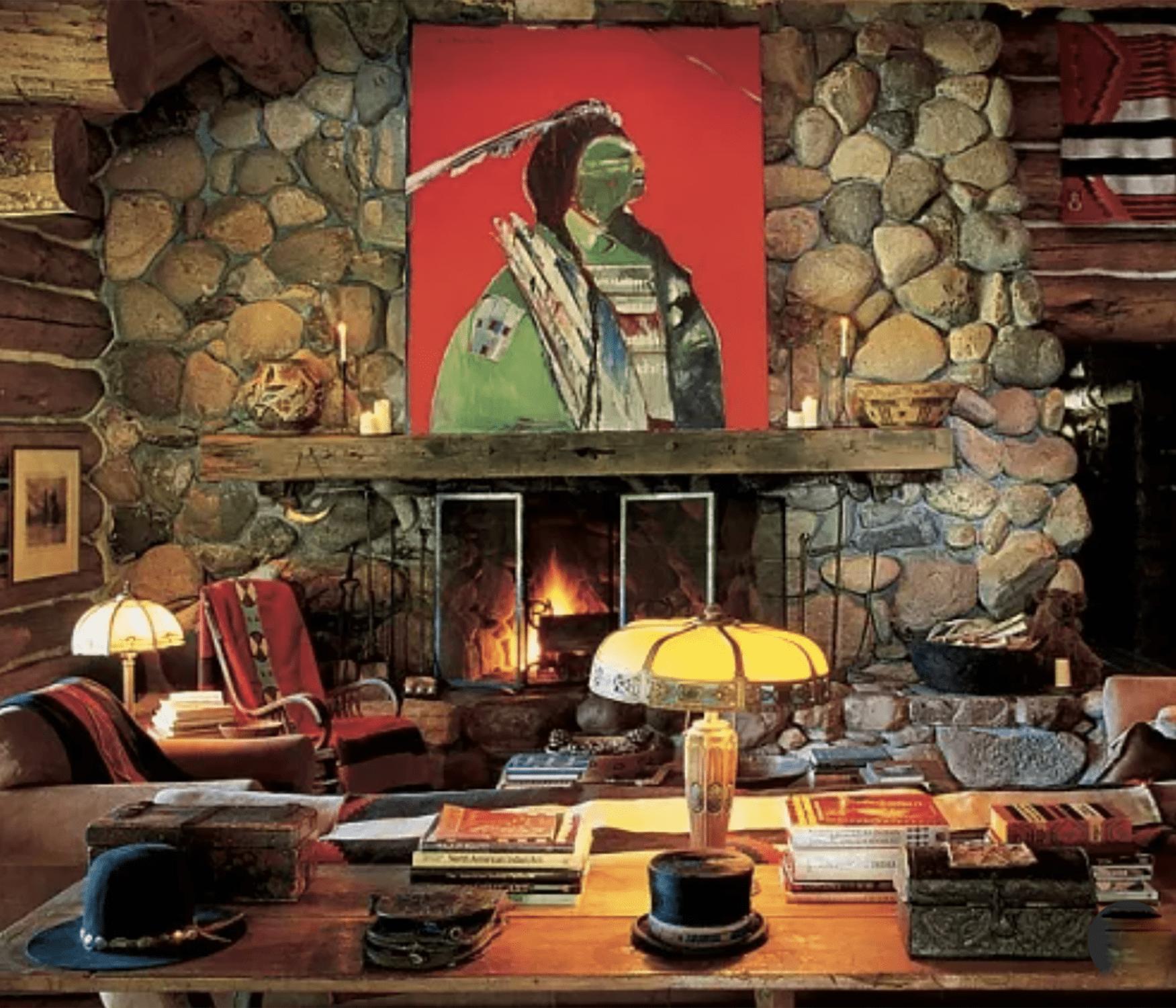 ralph lauren's colorado home