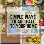 Simple Ways to Add Fall to your Home