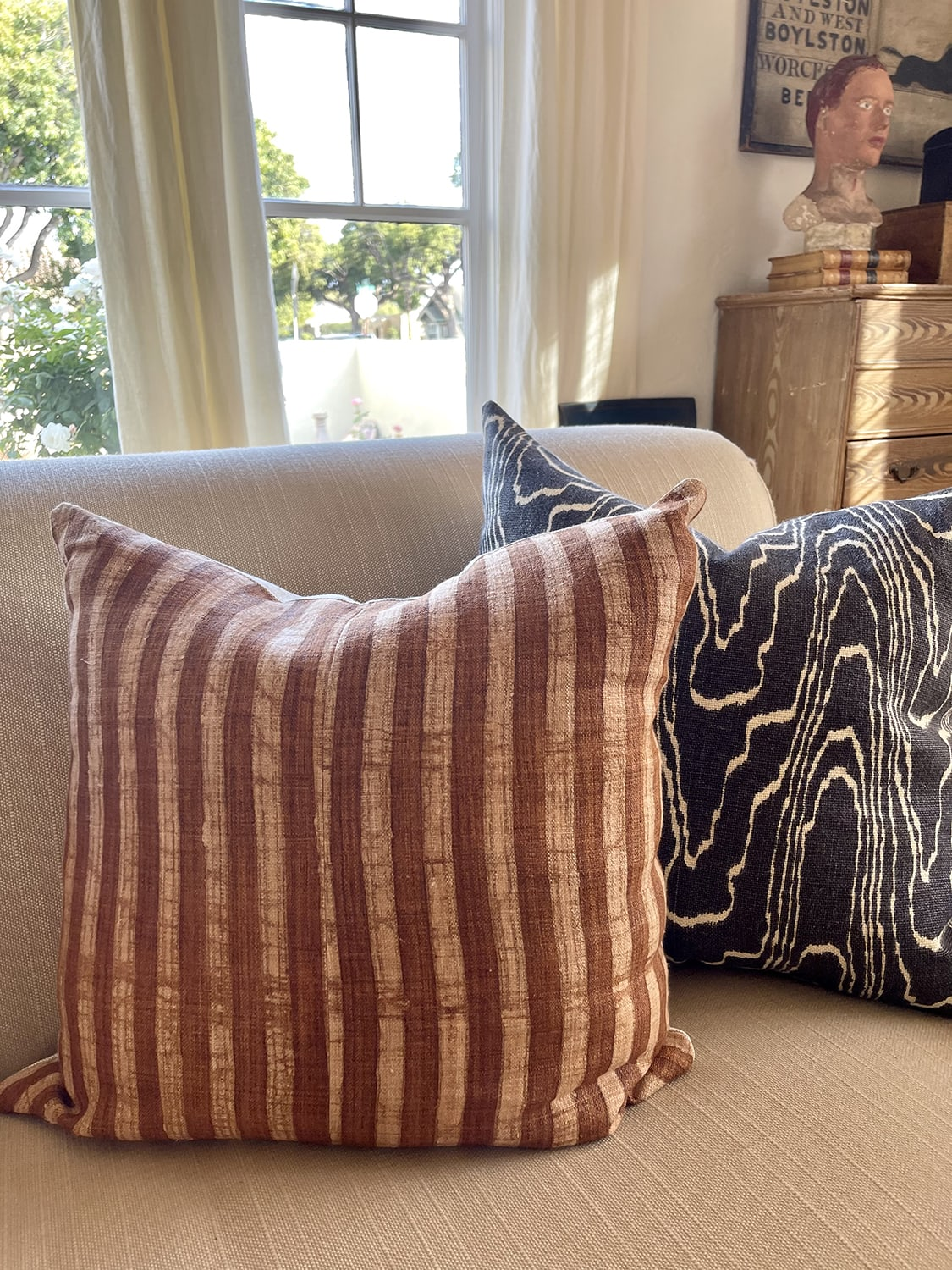 Homegirl Collection pillow with Kelly Wearstler for Groundworks pillow