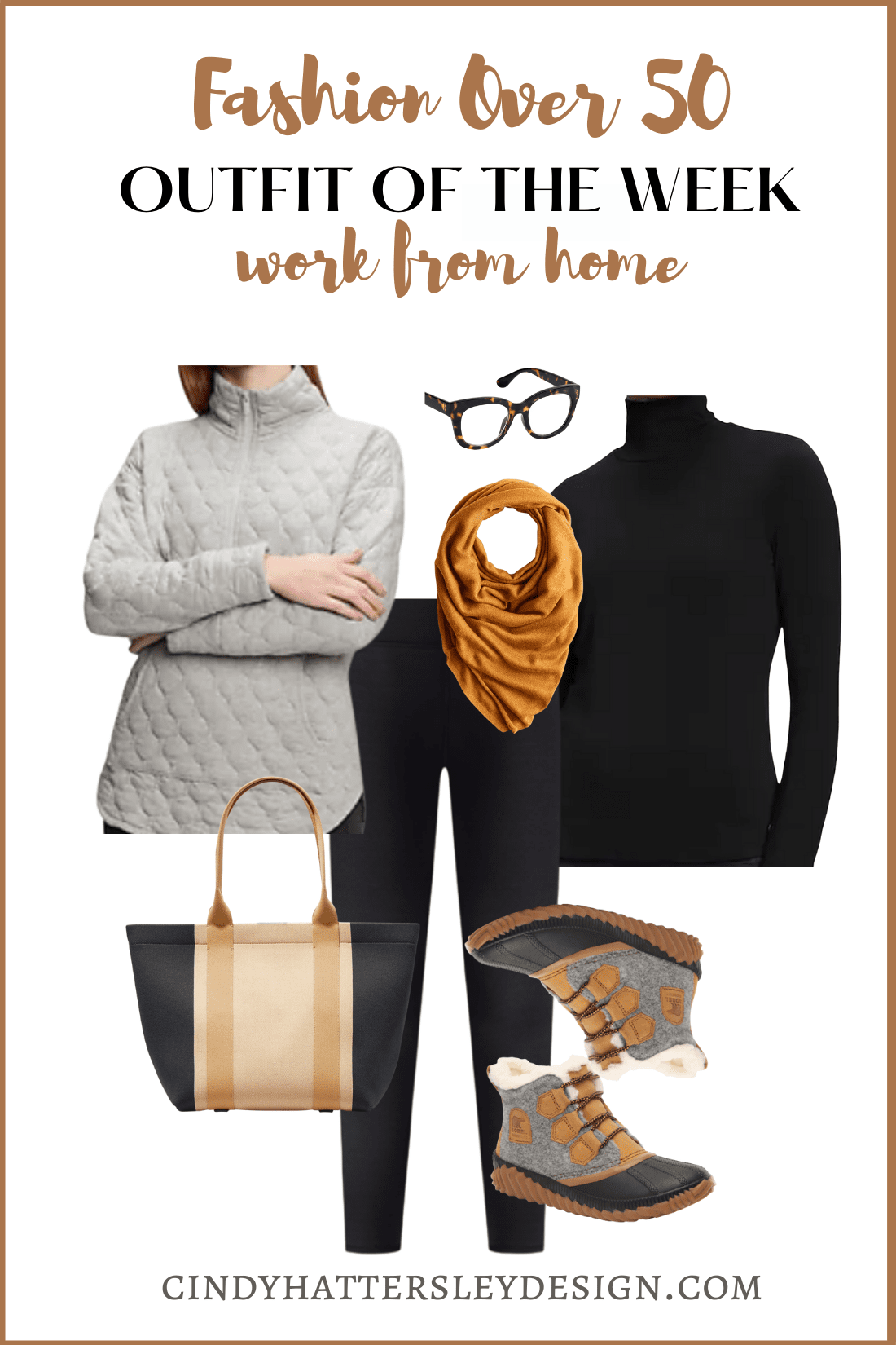 OUFIT OF THE WEEK WORKING FROM HOME