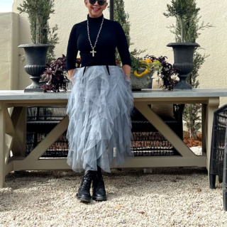 cindy-hattersley-in-tulle-skirt-and-combat-boots