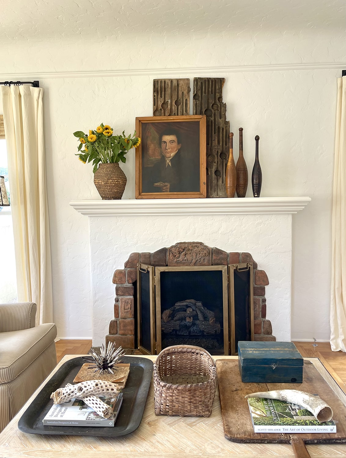 cindy hattersley's fall coffee table