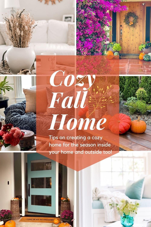 cozy fall home tour