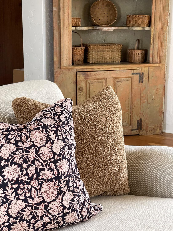 teddy pillow from PB & Breccia pillow